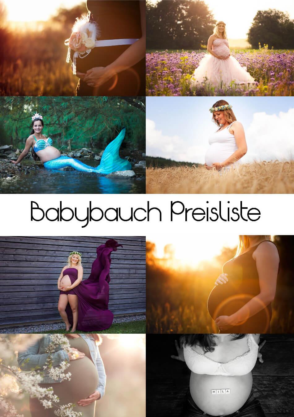 Babybauch-Preisliste